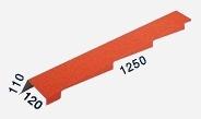 Фронтонная планка правая/левая (1250 мм)