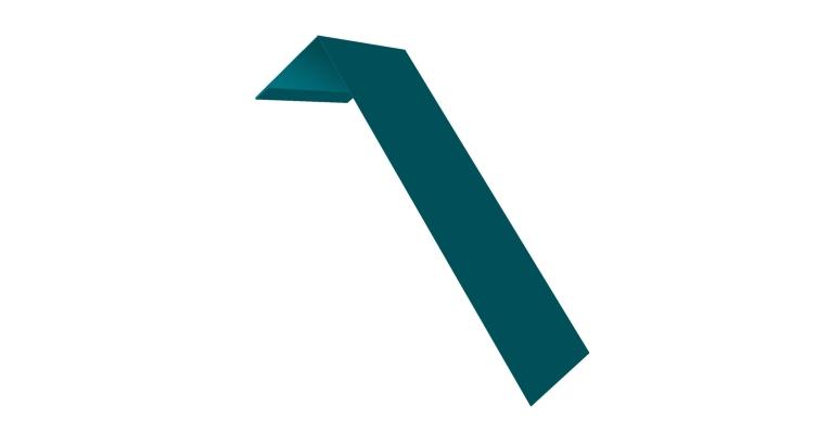 Планка лобовая/околооконная простая 190х50 0,45 PE с пленкой RAL 5021