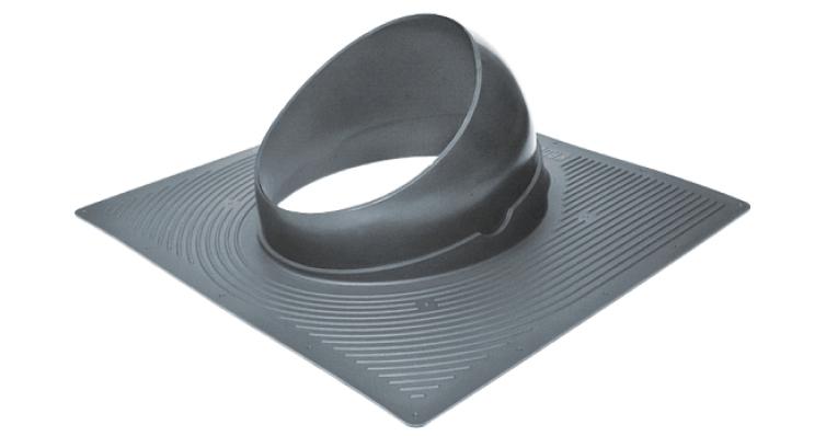 Проходной элемент Krovent Base-VT 125/150 серый