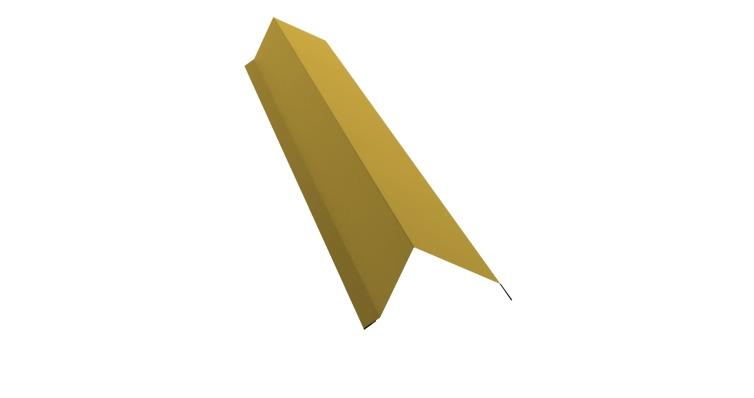 Планка торцевая 100х80 0,45 PE с пленкой RAL 1018