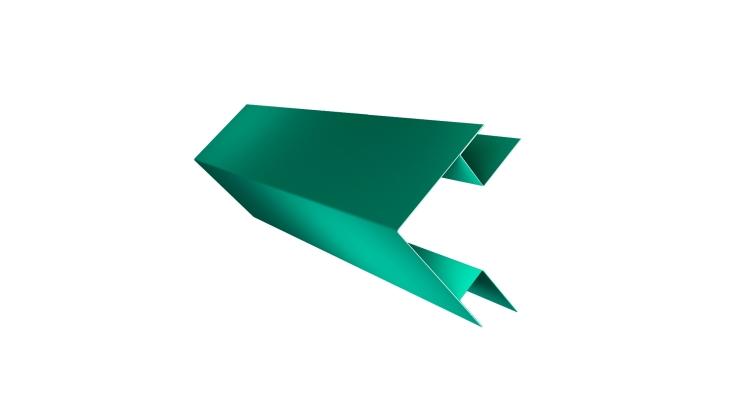 Планка угла внешнего сложного Экобрус GL 0,45 PE с пленкой RAL 5021