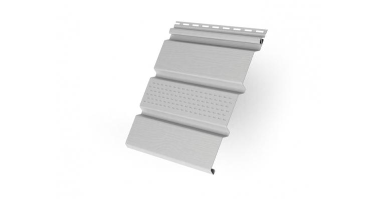 Софит T3 частично перфорированный GL Amerika 3,0 белый (slim)