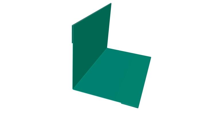 Планка угла внутреннего 110х110 0,45 PE с пленкой RAL 5021