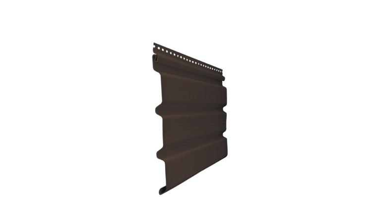 Софит T3 частично перфорированный GL Amerika 3,0 коричневый (slim)