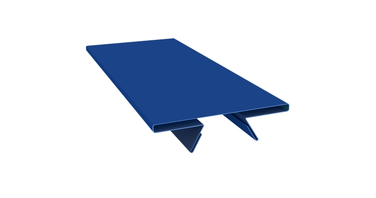 Планка стыковочная составная верхняя 0,45 PE с пленкой RAL 5005