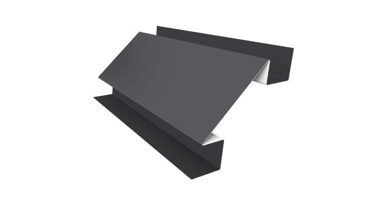 Угол внутренний сложный 75х75 0,45 PE с пленкой RAL 7004