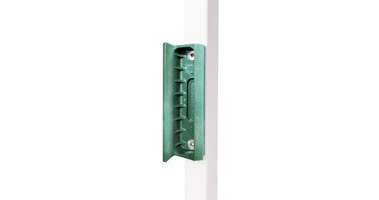 Ответная планка SMKL QF, для замка LAK зеленая RAL 6005