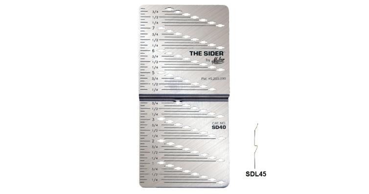 Лекало SDL45 для разметки и нарезки панелей D4,5D Malco