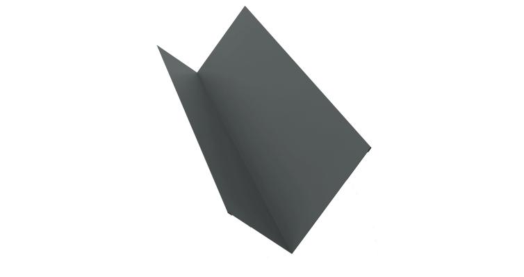 Планка примыкания 150х250 0,45 PE с пленкой RAL 7005