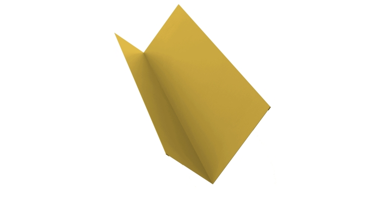 Планка примыкания 150х250 0,45 PE с пленкой RAL 1018