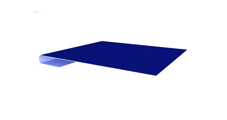 Планка завершающая 0,45 PE с пленкой RAL 5002