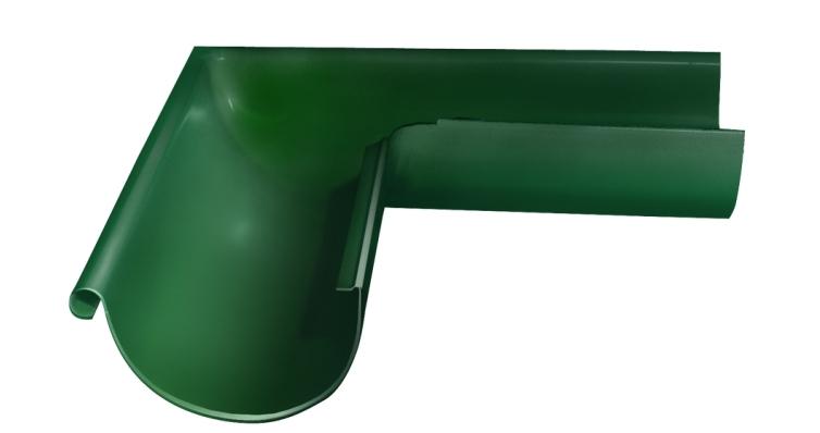 Угол желоба внешний, 90 гр,125 мм RAL 6005