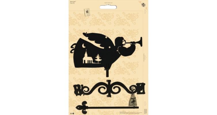 Флюгер большой Duck & Dog 061 Херувим
