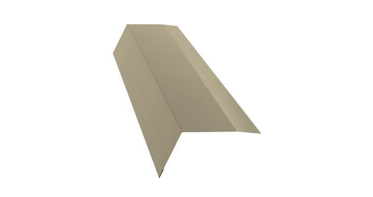 Планка карнизная 100х65 0,45 PE с пленкой RAL 1015