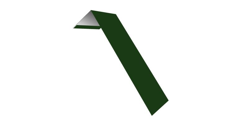 Планка лобовая/околооконная простая 190х50 0,45 PE с пленкой RAL 6002