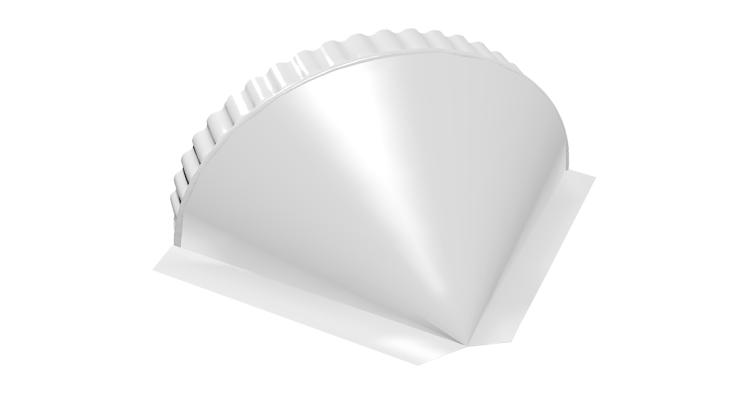 Заглушка малая конусная PE RAL 9003