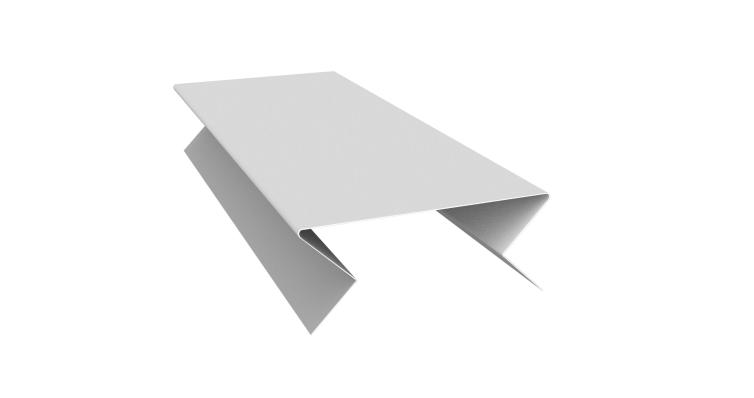 Планка угла внешнего составная нижняя 0,5 Satin с пленкой RAL 9003