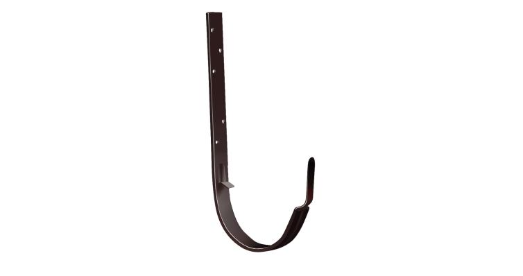 Крюк длинный 125 мм, RAL 8017