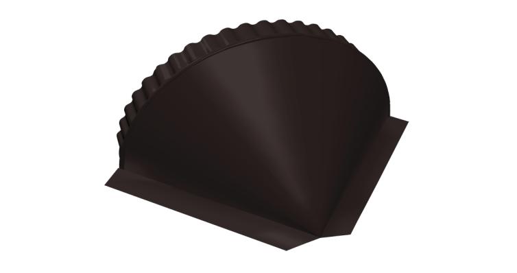 Заглушка малая конусная Velur20 RAL 9005