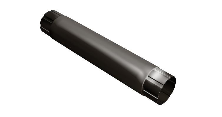 Труба круглая соединит,100 мм 1 м RR 32