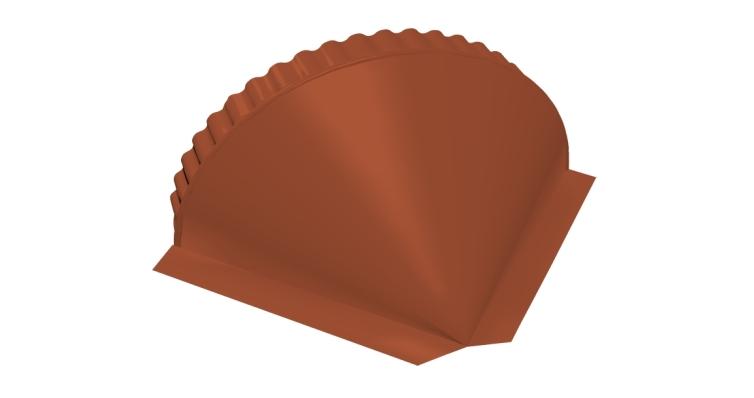 Заглушка малая конусная Velur20 RAL 8004