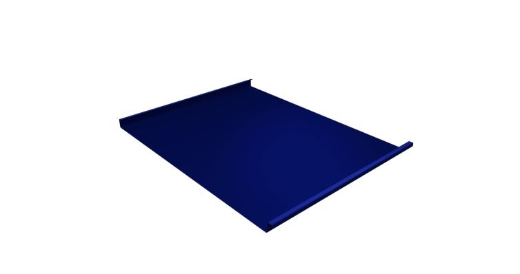 Фальц двойной стоячий 0,45 PE с пленкой RAL 5002