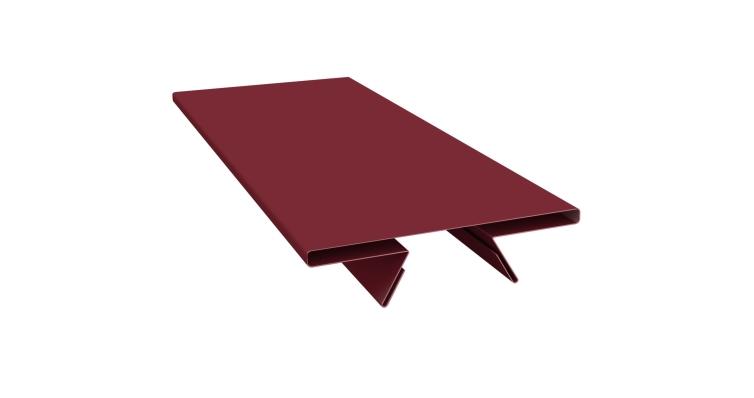 Планка стыковочная составная верхняя 0,45 PE с пленкой RAL 3005