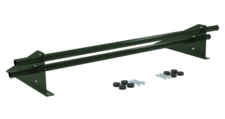 Снегозадержатель трубчатый универсальный Optima RAL 6020 1м