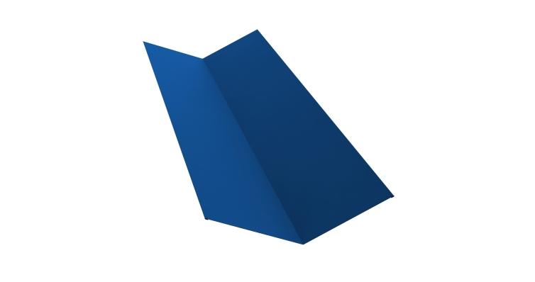 Планка ендовы верхней 145х145 0,45 PE с пленкой RAL 5005