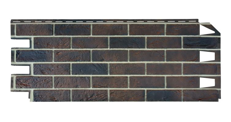 Панель отделочная VOX Solid Brick York кирпич коричневый