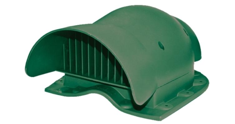 Вентиль кровельный Krovent KTV-Wave зеленый