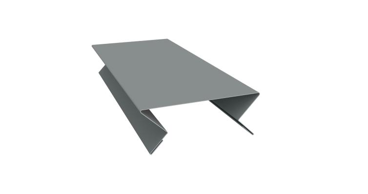 Планка угла внутреннего составная верхняя 0,45 PE с пленкой RAL 7005