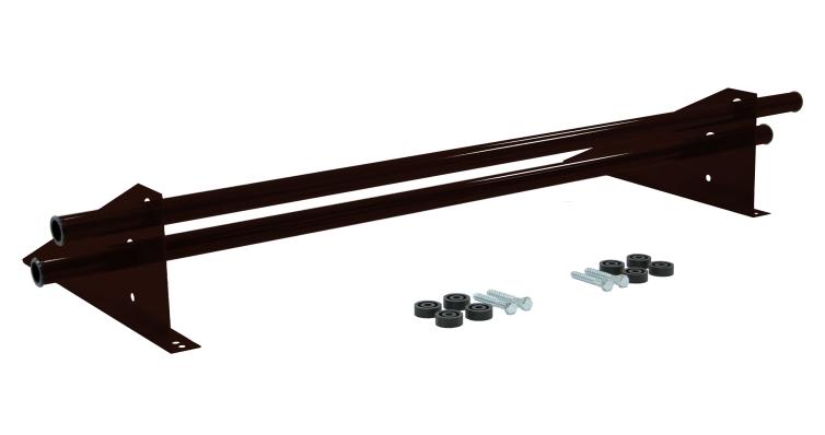 Снегозадержатель трубчатый универсальный Optima RAL 8019 1м