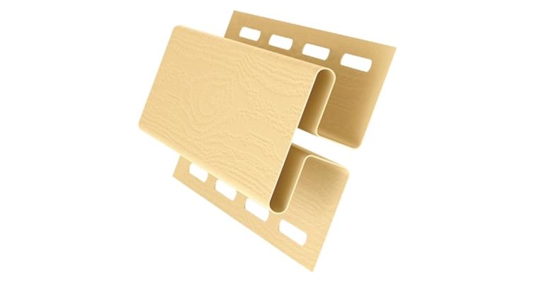 Профиль H соединительный 3,00 GL золотой песок