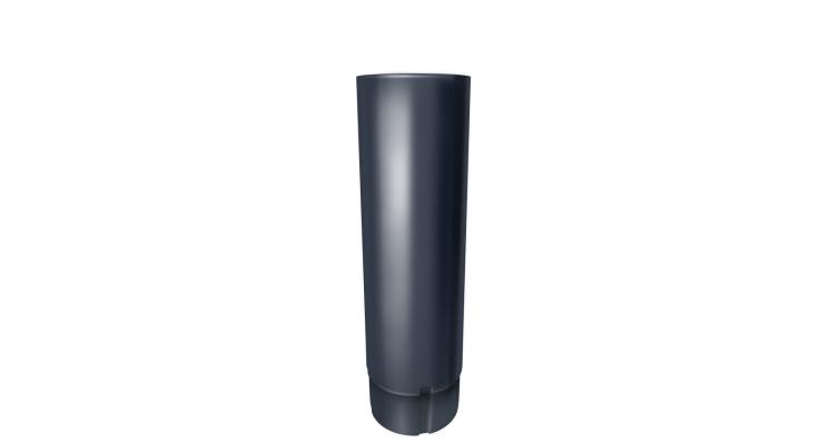 Труба круглая,90 мм 3 м RAL 7024