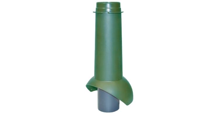 Выход канализации Krovent Pipe-VT 110 зеленый