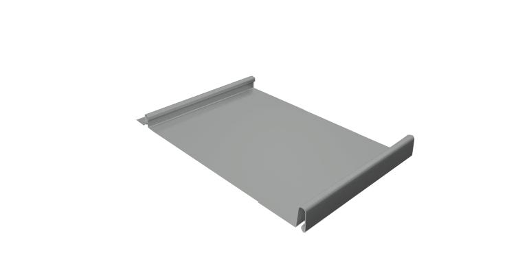 Кликфальц 0,5 Satin с пленкой RAL 9006