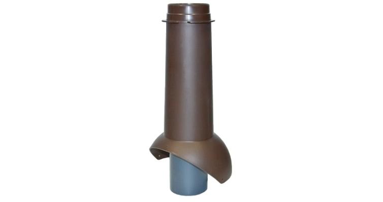 Выход канализации Krovent Pipe-VT 110 коричневый