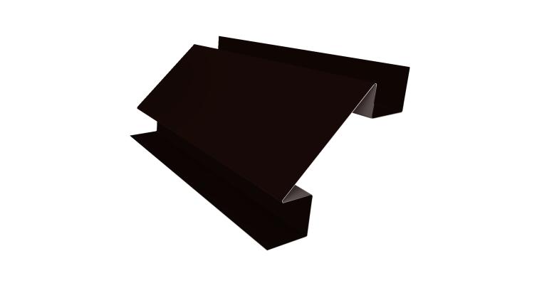 Угол внутренний сложный 75х75 0,5 Quarzit с пленкой RR 32