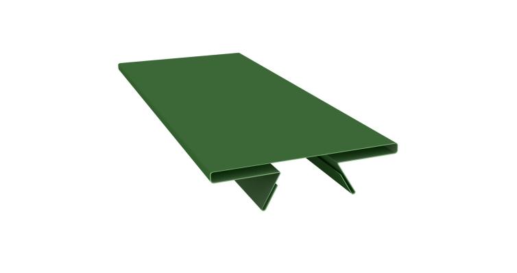 Планка стыковочная составная верхняя 0,45 PE с пленкой RAL 6002