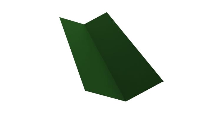Планка ендовы верхней 145х145 0,45 PE с пленкой RAL 6002