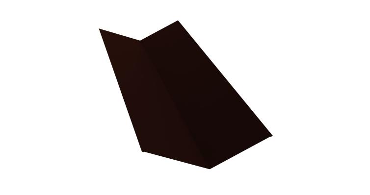 Планка ендовы верхней 145х145 0,5 Quarzit lite с пленкой RR 32