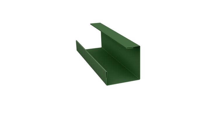 Планка угла внутреннего составная нижняя 0,45 PE с пленкой RAL 6002