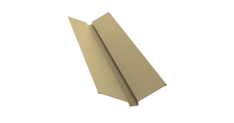 Планка ендовы верхней 115х30х115 0,45 PE с пленкой RAL 1014