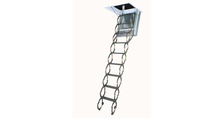 Лестница металлическая огнестойкая 70x80 LSF-300