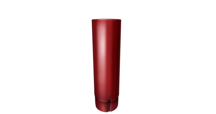 Труба круглая,90 мм 3 м RAL 3011