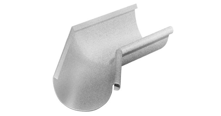 Угол желоба внутренний, 135 гр,125 мм Al-Zn