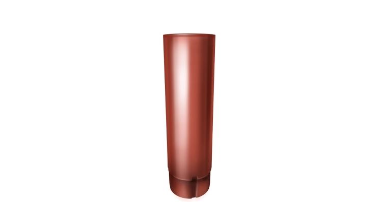 Труба круглая,90 мм 3 м RAL 8004