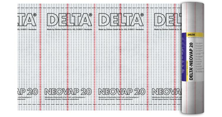 Delta-Neovap 20 армированная пароизоляционная пленка