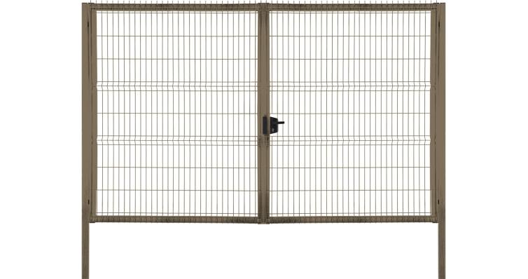 Ворота Profi Lock 2,03x4,0 RAL 7040